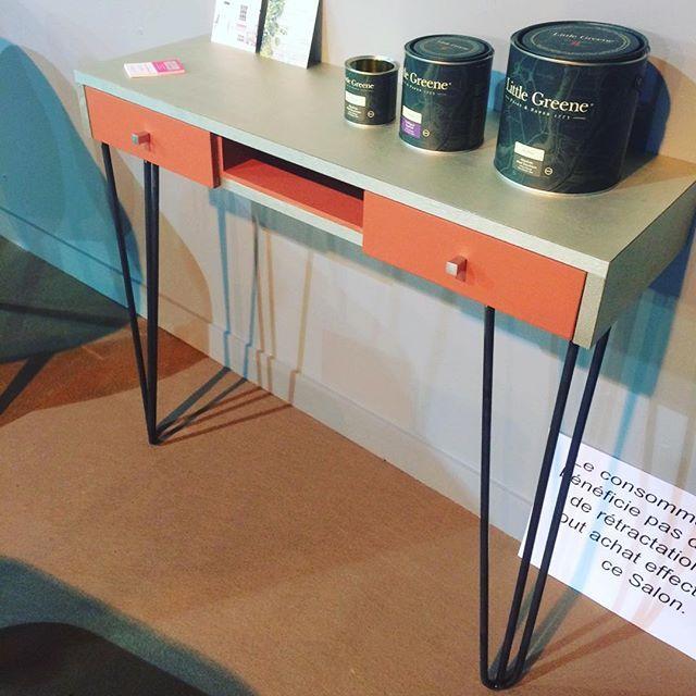 console bois et pieds pingles 3 branches decoscandinave. Black Bedroom Furniture Sets. Home Design Ideas