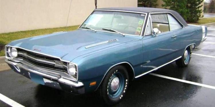 Blue 1969 Dodge Dart Gts Hardtop Dodge Dart Classic Cars Dodge