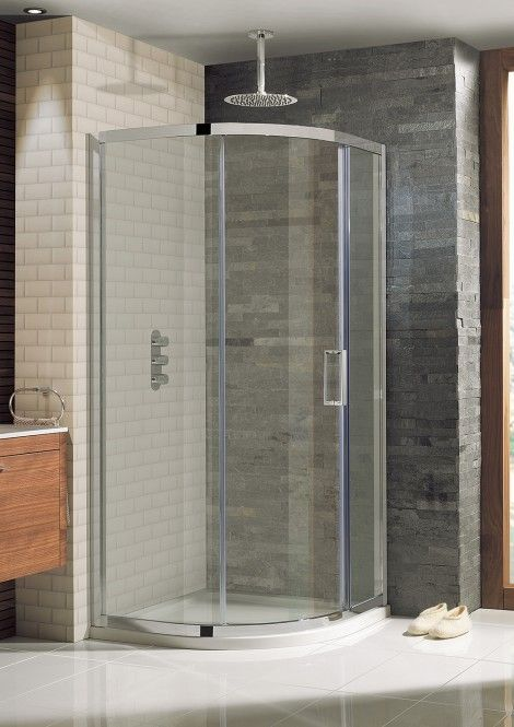 Elite Quadrant Single Door in Showering Simpsons - Shower