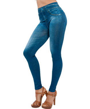 5515957e886fe Genie Slim Jeggings – Fit Like Leggings – Look Like Skinny Jeans ...