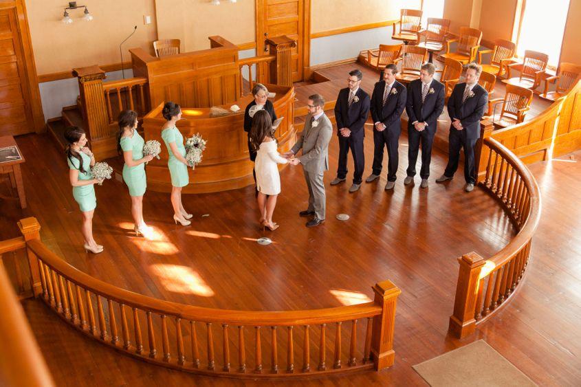 Rachel: Our Civil Wedding Ceremony | Practical wedding, Courthouse ...
