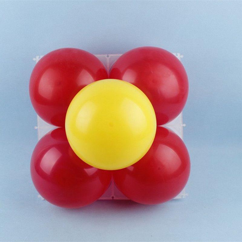 10pcs/lot 4 Holes Balloon Grids Balloons Modelling Decoration Design ...
