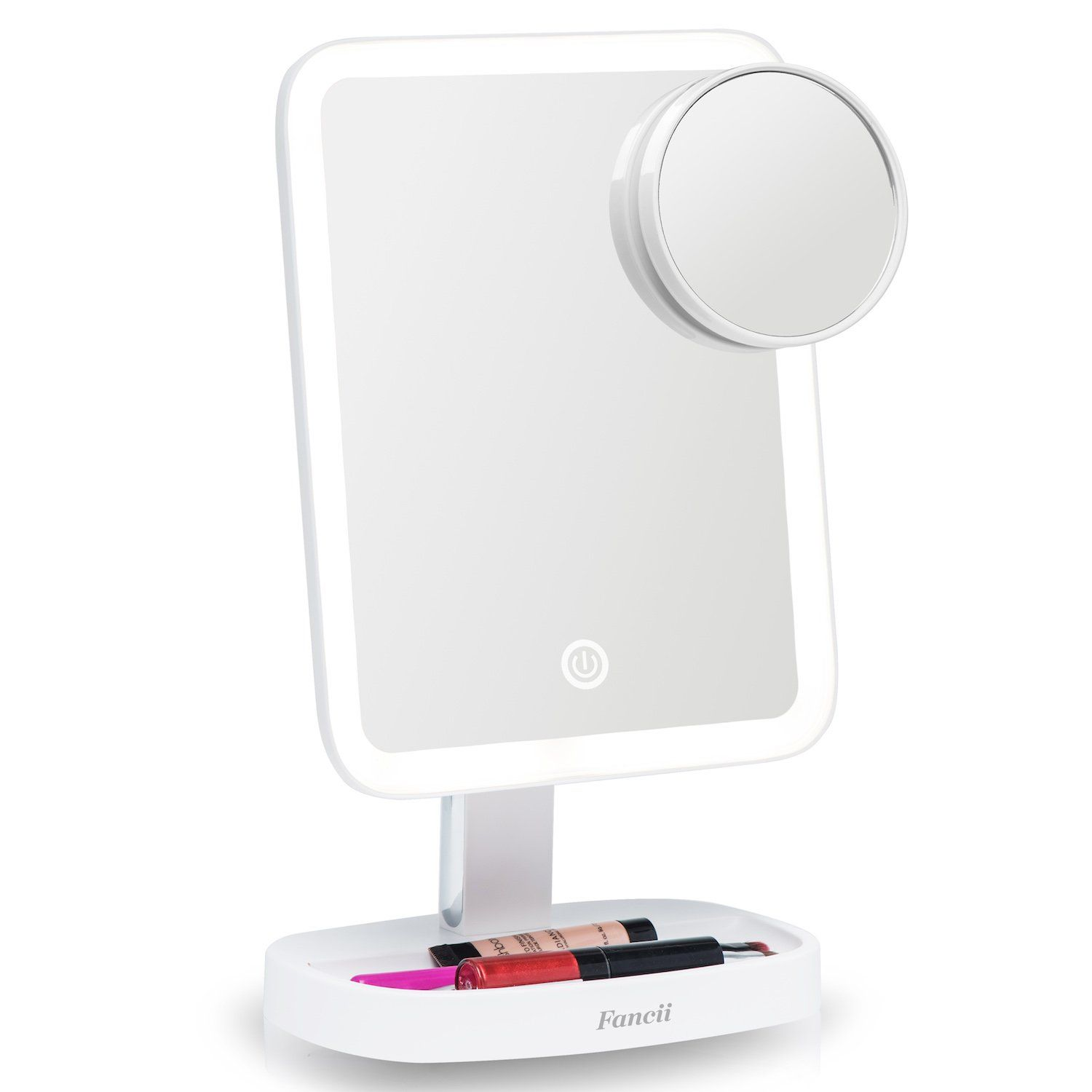 Fancii Led Makeup Vanity Mirror With 3 Light Setting And 15x