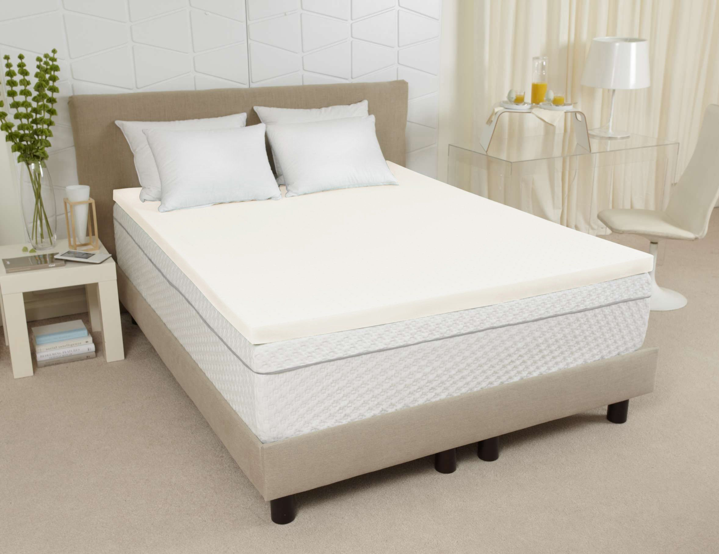 Have You Been Struggling With Uncomfortable Night S Sleep Then Joy Ventilated Memory Foam Mattress Topper Queen Is Your Perfect Solution