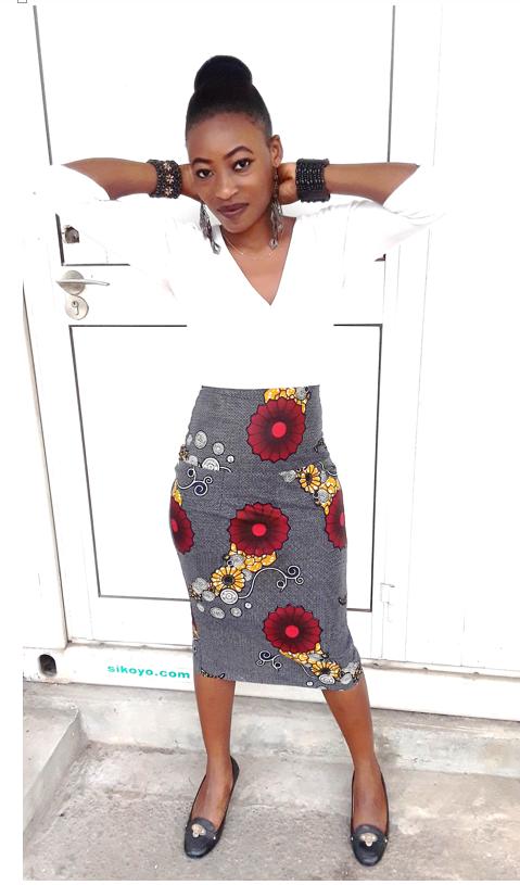 jupe haute pagne wax couture model jupes hautes jupe et pagne