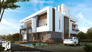 Image Result For Elevations Of Residential Buildings In Indian Photo Gallery Modern Bungalow ExteriorHouse