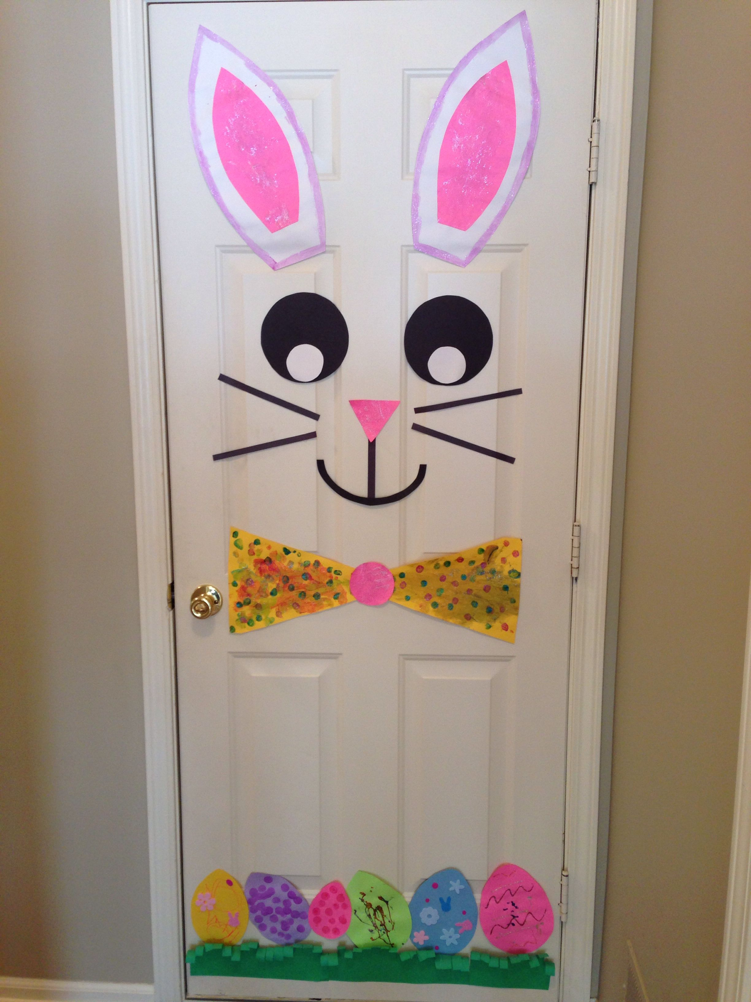 Easter bunny door kiddos pinterest easter bunny easter and bunny