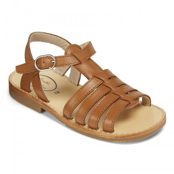 47cfb4295677 Solange - Children s Sandals - Menthe et Grenadine Boy Or Girl