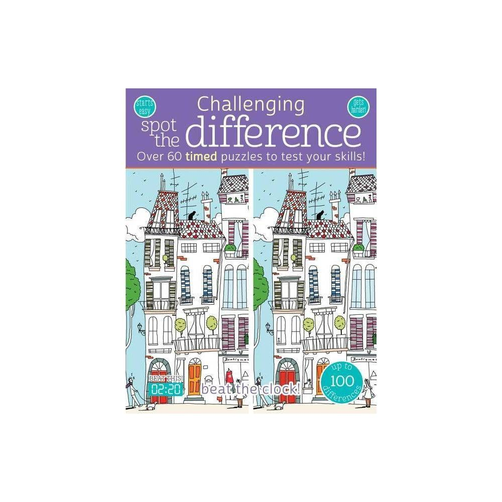 Challenging Spot the Difference - (Paperback)