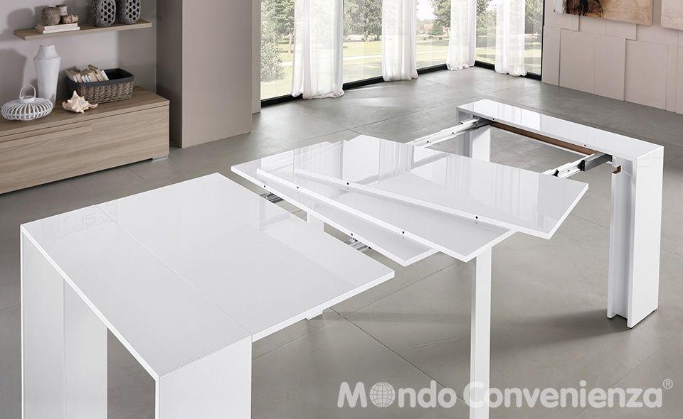 Tavolo Rotondo Allungabile Mondo Convenienza.Mondo Convenienza Tavolo Mod Moderna Cod 5gft 14100 Da Cucina