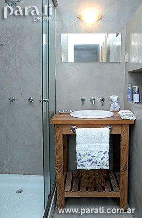 muebles antiguos y cemento alisado - Buscar con Google baños