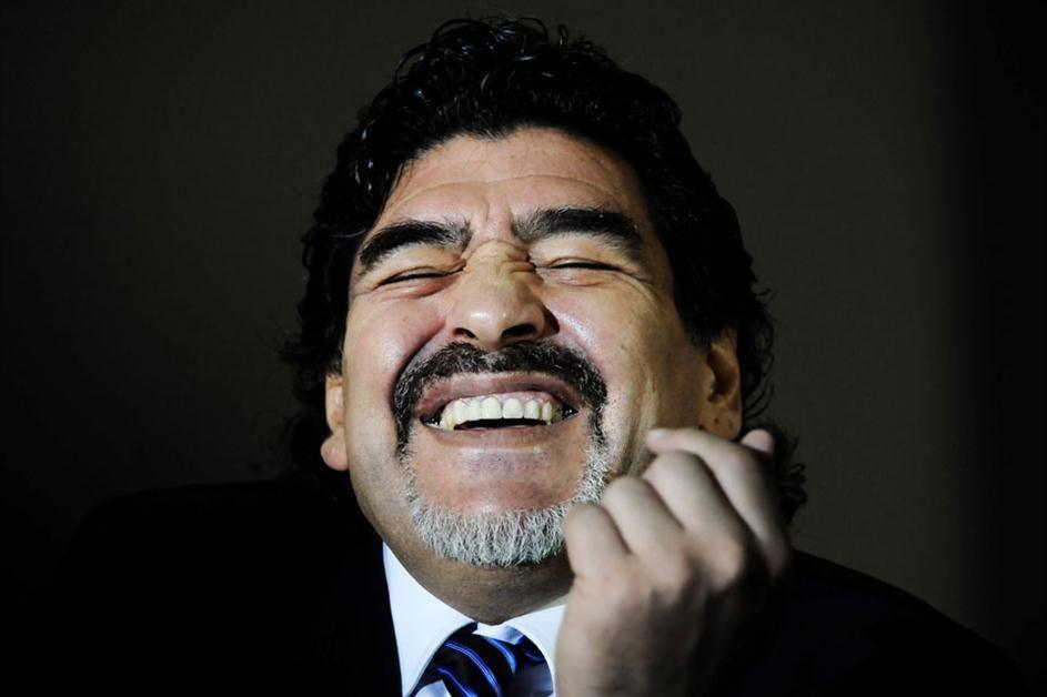 Diego feliz