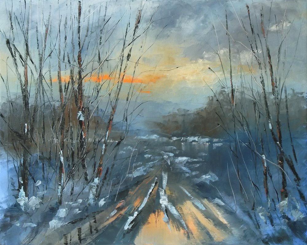 Vitaliy Mashchenko -  paintings of nature, scenery paintings, winter