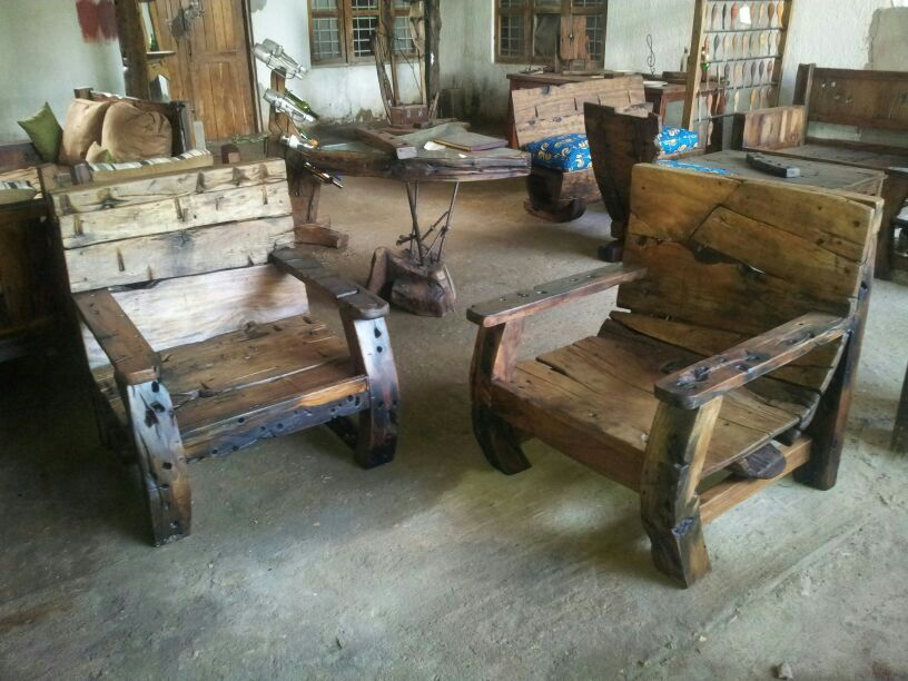Dhow reclaimed wood chairs | Furniture | Pinterest | Woods ...