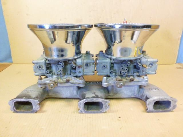 Clifford Dual Quad Intake Manifold C4650 Holley 9776 450cfm
