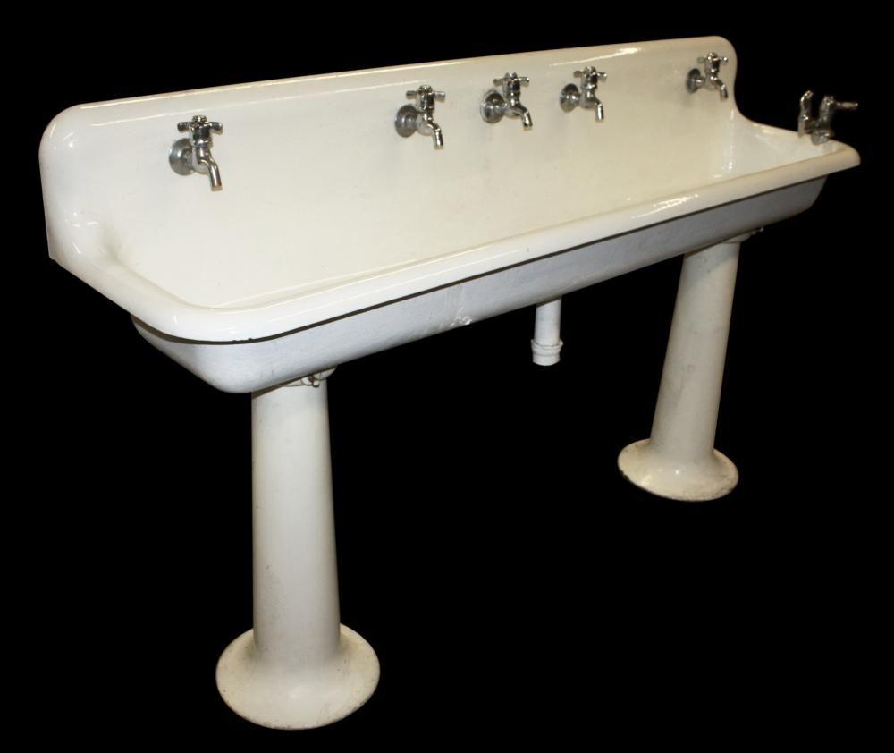 Commercial Pedestal Sink For Bathroom