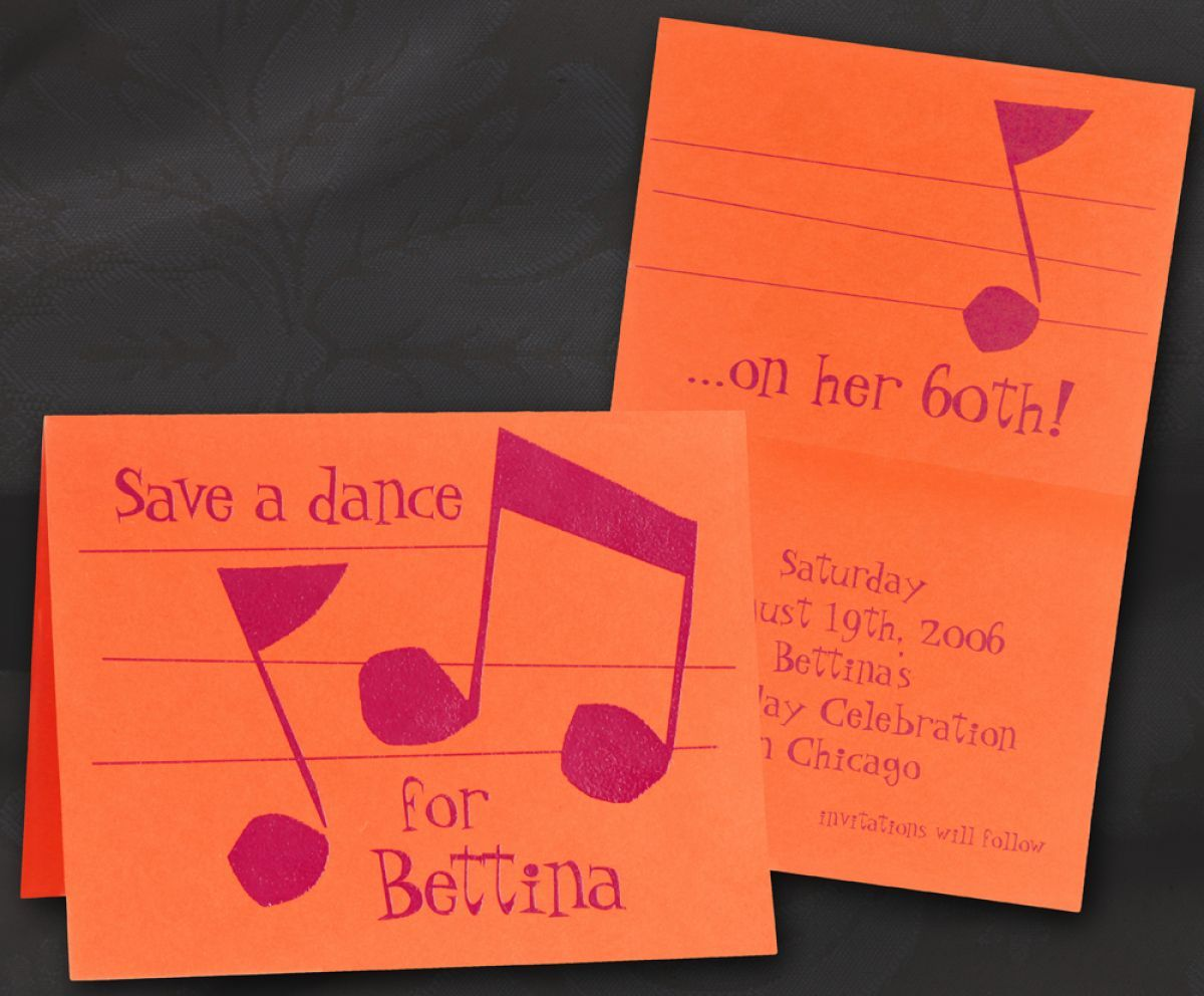 Save a Dance - Lallie | invitations | Pinterest