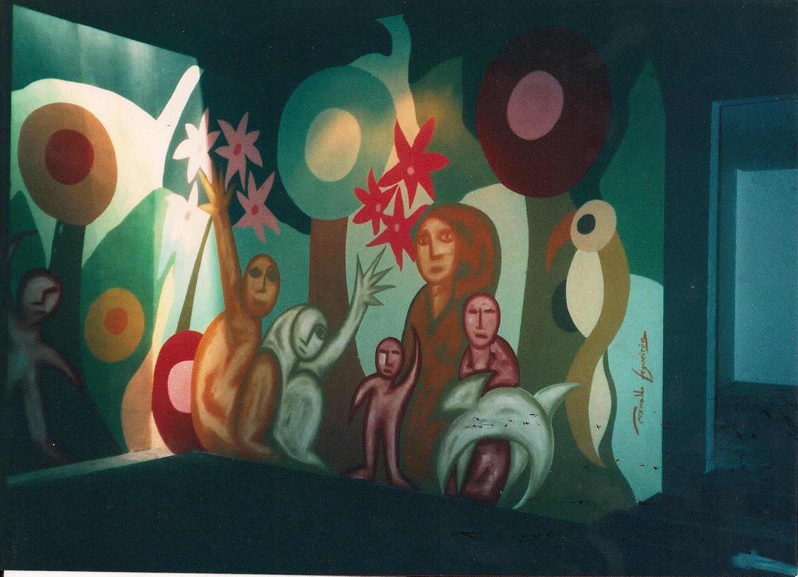 Persivaldo Figueirôa - Artista Plástico: Pinturas sobre Parede