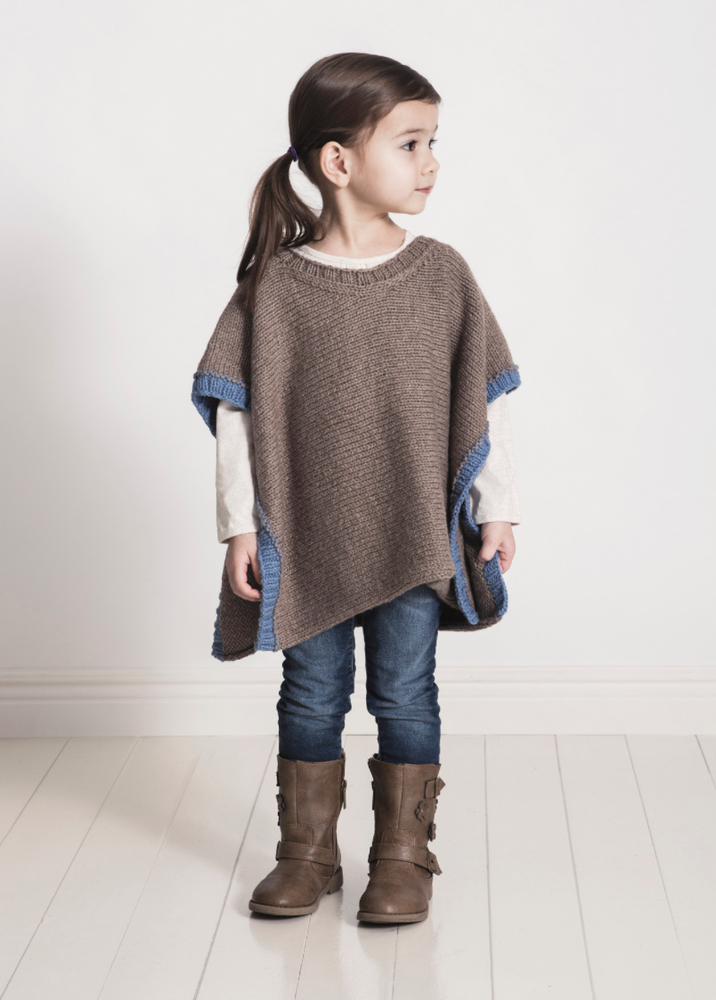 Spud And Chloe Puddle Jumper Poncho Knitting Pattern Pdf Easy