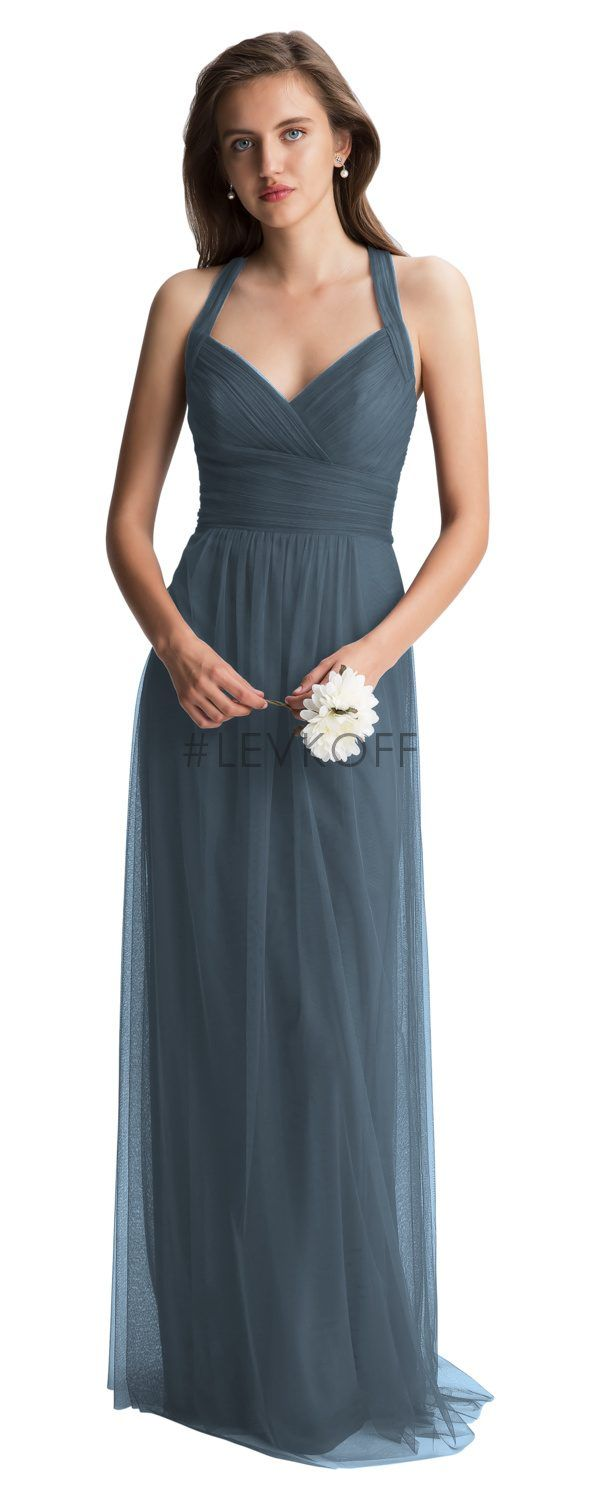 170170ee4c42 Bill Levkoff 7012 is shown in Slate and a size 12. | Bridesmaids ...