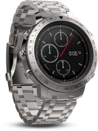 c5a304955fd Garmin Fenix Chronos Stainless Steel GPS Heart Rate Monitor Watch ...