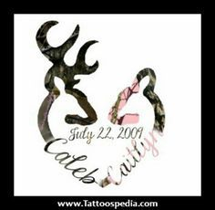 Browning Buck And Doe Wedding Invitations Google Search Browning Tattoo Marriage Tattoos Hunting Tattoos