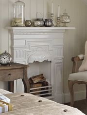 Small Bedroom Fireplace