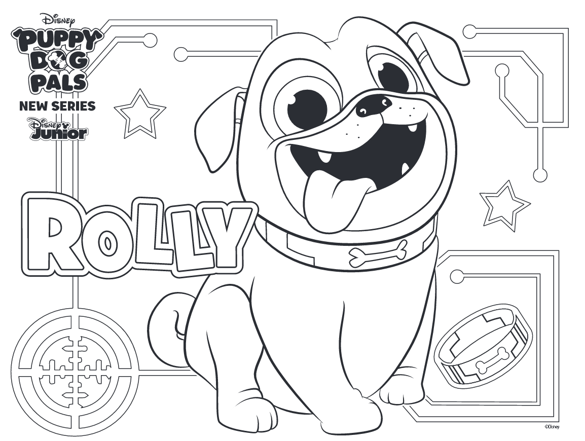 Puppy Dog Pals Coloring Pages Best Coloring Pages For Kids Puppy Coloring Pages Disney Coloring Pages Coloring Books