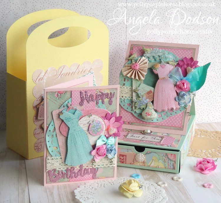 Easel box card mini birthday card gift bag dovecraft couture du easel box card mini birthday card gift bag dovecraft couture du jour collection bookmarktalkfo Images