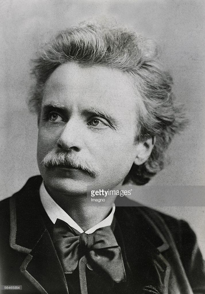 Norwegian Composer Edvard Grieg Photography 1943 Der Norwegische Famous Composers Classical Music Norwegian