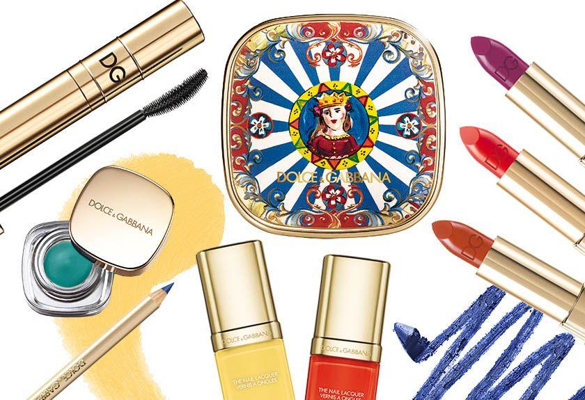 Summer in Italy 2016: il make-up estivo di Dolce e Gabbana celebra il carretto siciliano