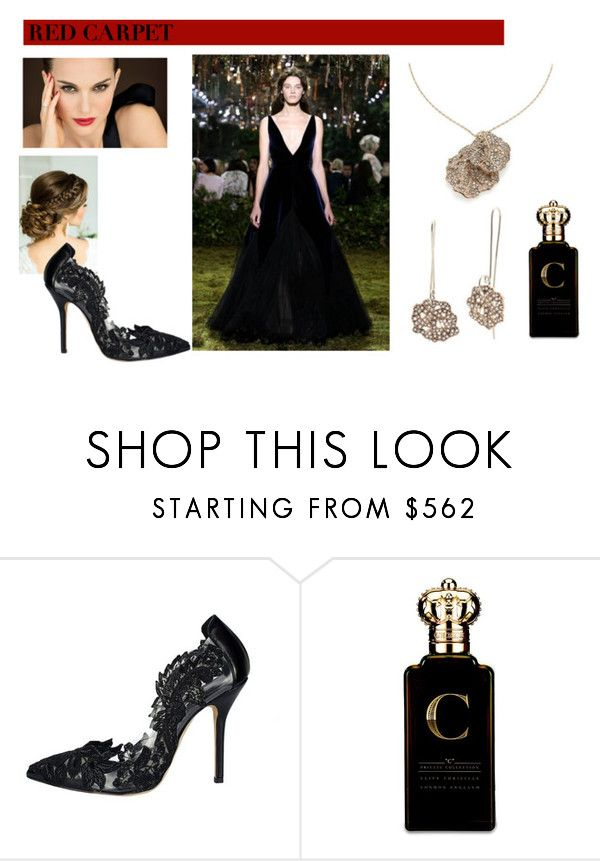 """""""look 541"""" by lucianatsd ❤ liked on Polyvore featuring H.Stern, Oscar de la Renta, Clive Christian and RedCarpet"""