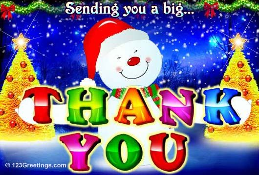 Thank you card to a good friend of mine favorite christmas card thank you card to a good friend of mine m4hsunfo