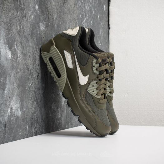 online store 363c1 0caf1 Nike Air Max 90 Mesh (GS) Cargo Khaki Light Bone at a great price 133  availability immediately only at Footshop.eu!