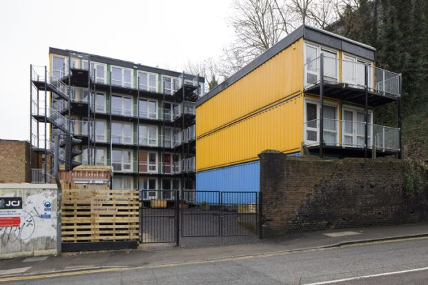 shipping container apartment complex - Google Search | Rental ...