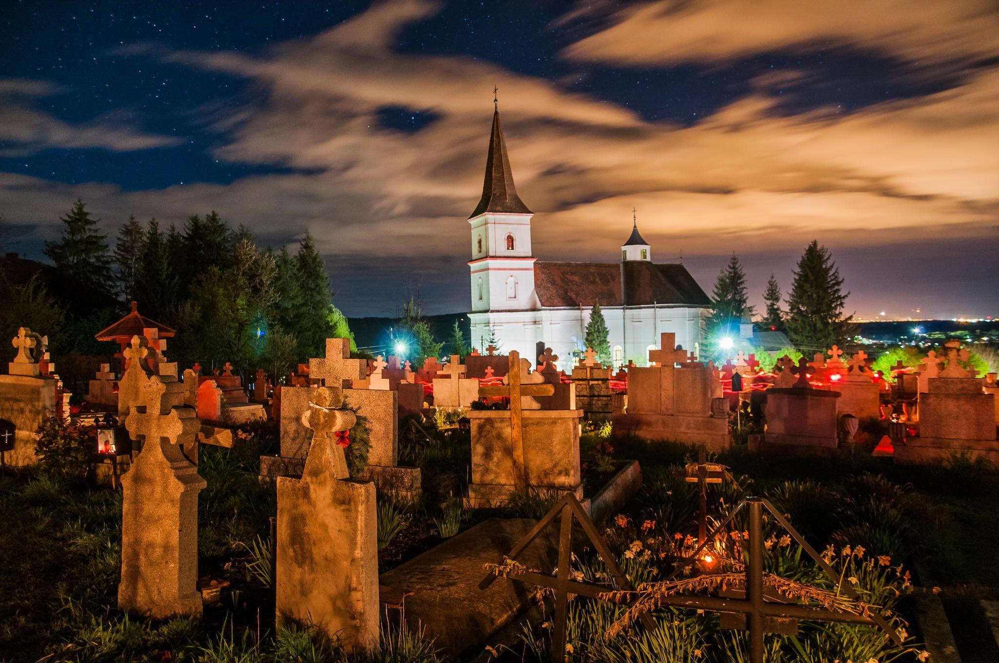 Graveyard in Rasinari, Sibiu