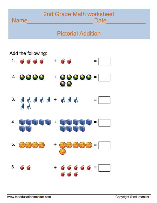 2nd Grade Math Worksheets Printables For Your Kids 2nd Grade Math Worksheets Math Worksheets Third Grade Worksheets