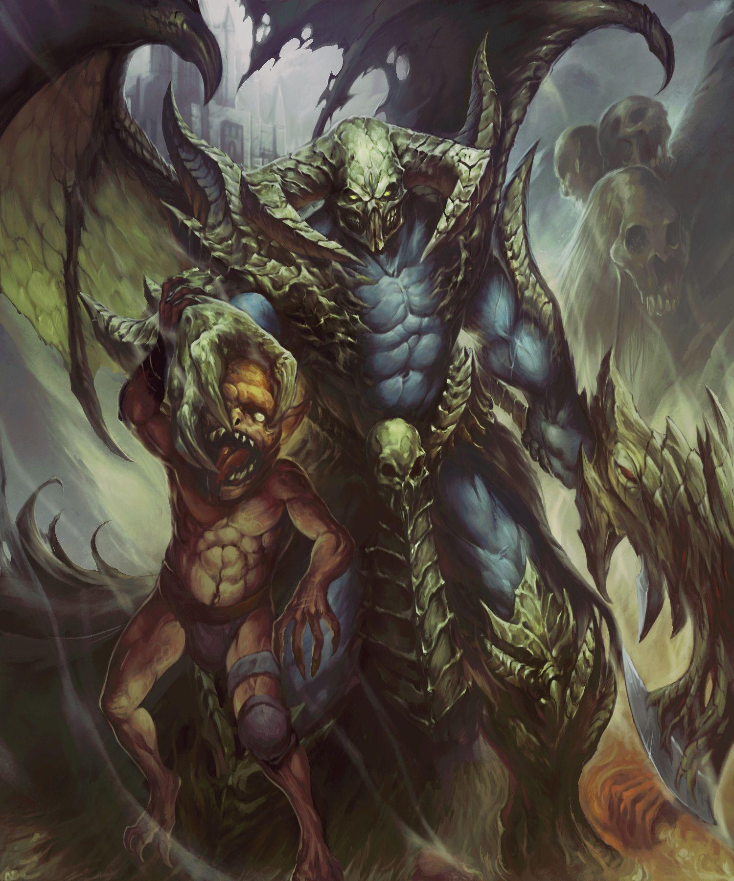 ArtStation Undead Lord Dark Summoner, Carlos Herrera