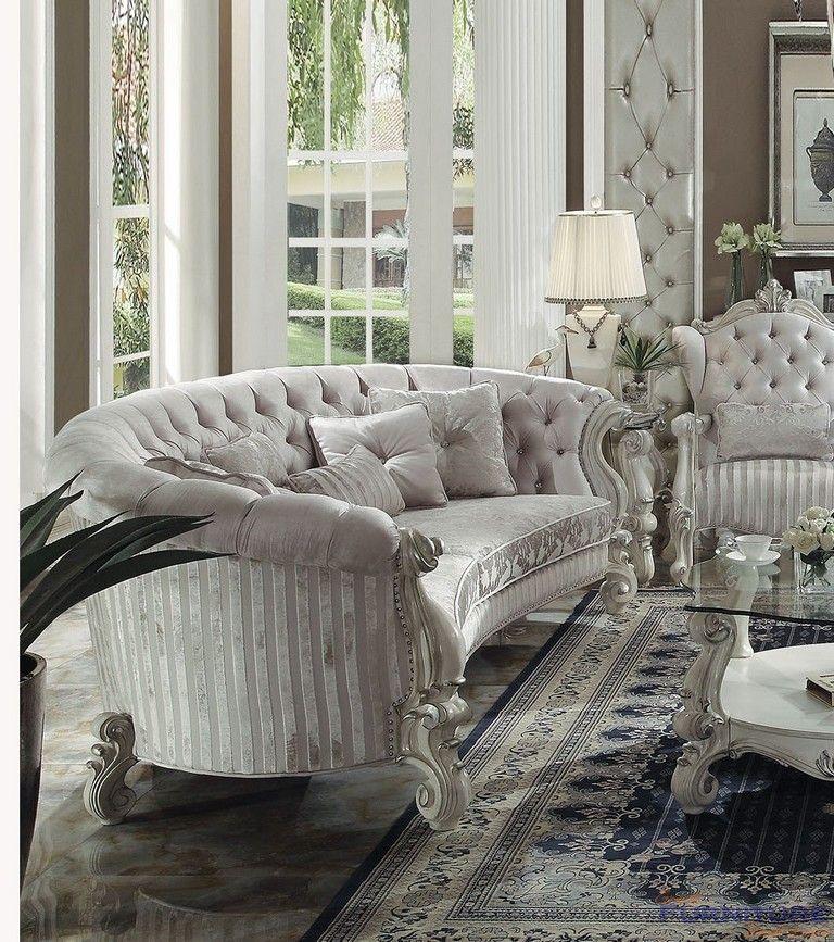 Acme Furniture Versailles 109 Sofa With 5 Pillows 52085
