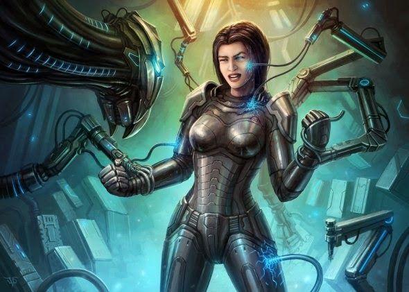As ilustrações de ficção científica com um toque retrô de Dmitriy Leonovich