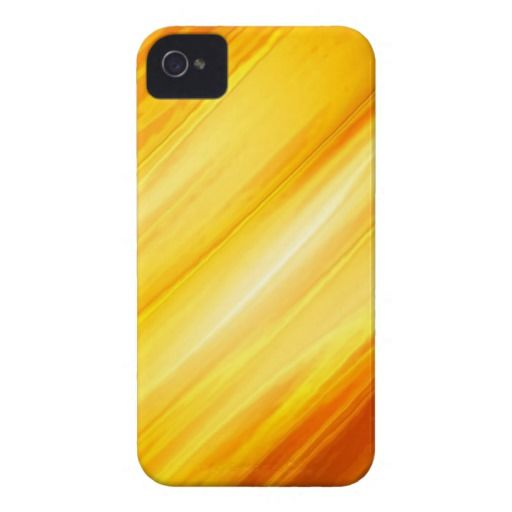 Abstract Yellow and Orange iPhone 4 Covers