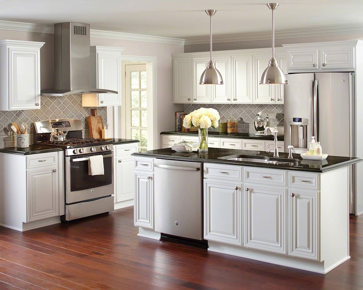 Best Dove Gray Arabesque 8Mm With Images Kitchen Cabinets 640 x 480