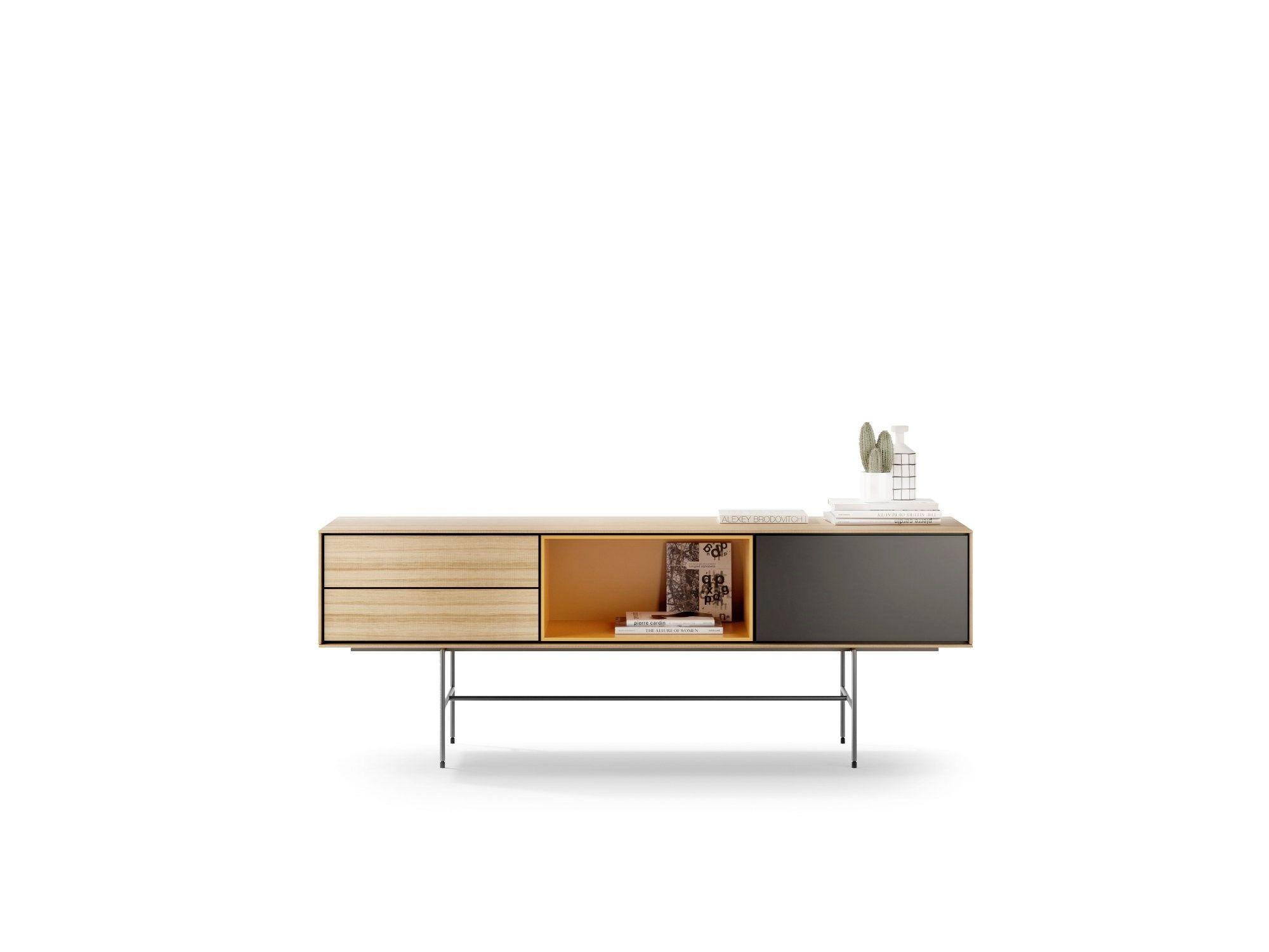 Aura Sideboard By Treku Design Angel Marti Enrique Delamo Furniture Sideboard Designs Wooden Sideboard