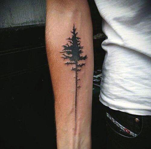 Forearm Tree Tattoos | Denenecek Projeler | Pinterest ...