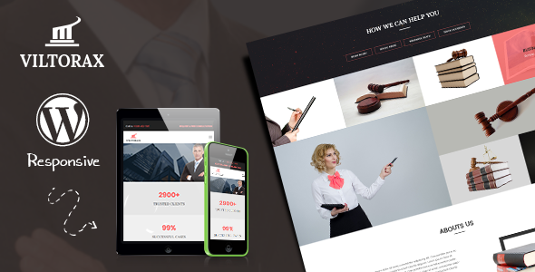 Viltorax - Lawyer Premium WordPress Theme   Free Premium WordPress ...