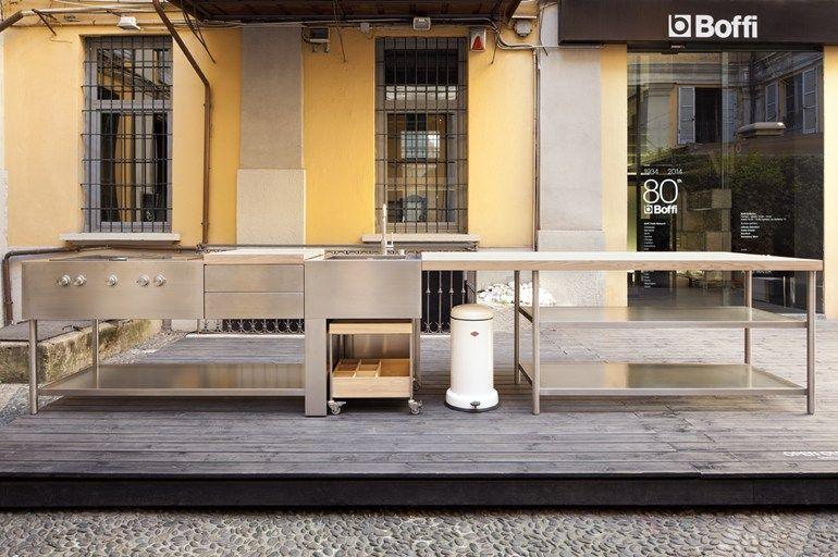 Cucina da esterno OPEN by Boffi | design Piero Lissoni | CART ...