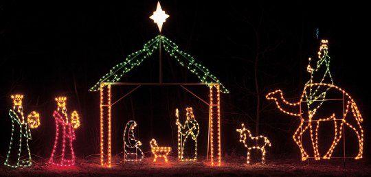 Nativity Nativity Displays Com The Professionals Choice For Christmas Christmas Lights Holiday Lights Christmas Diy Christmas Lights