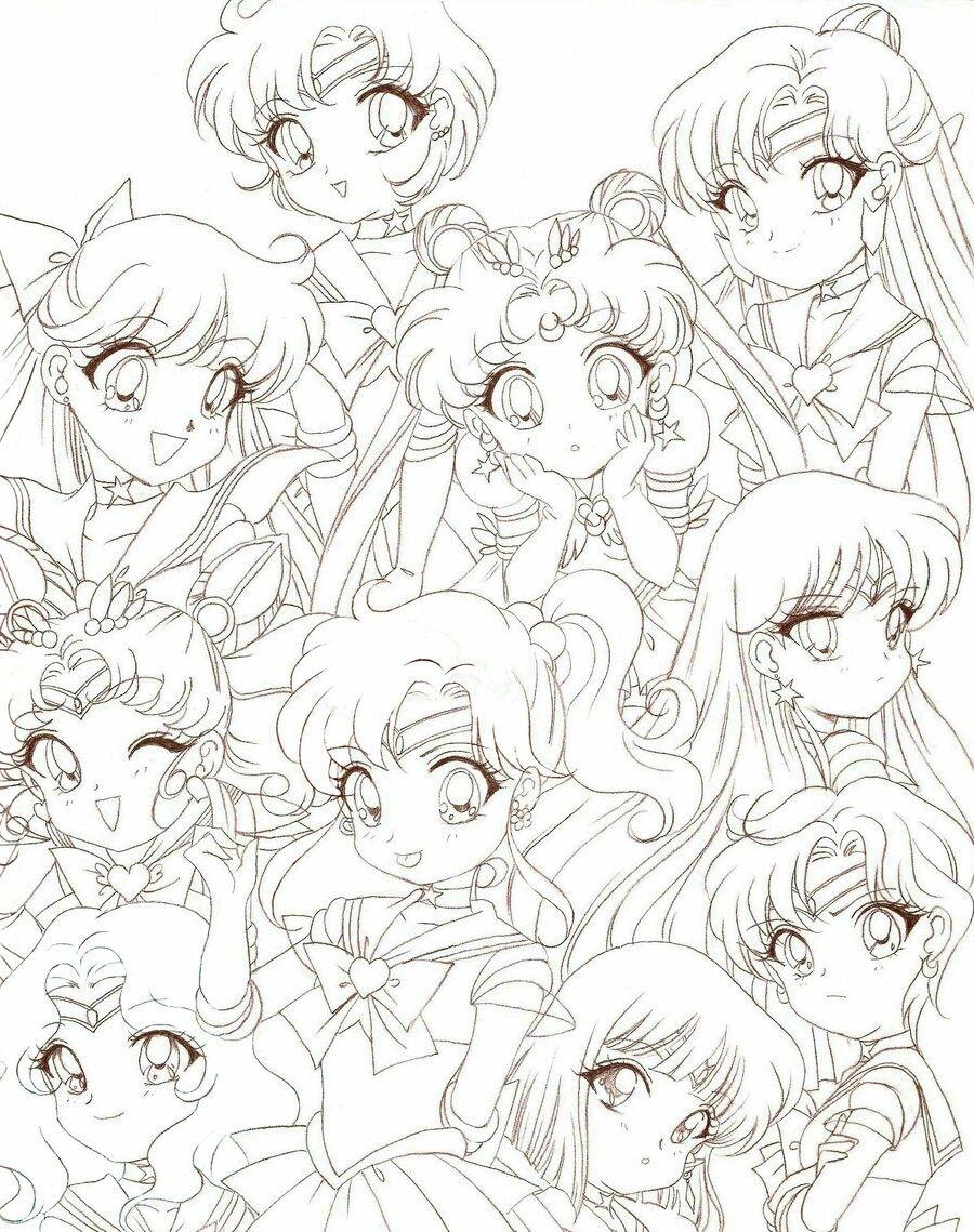 Pin de LOVE. サンドラ 03 en coloriages mangas | Pinterest ...