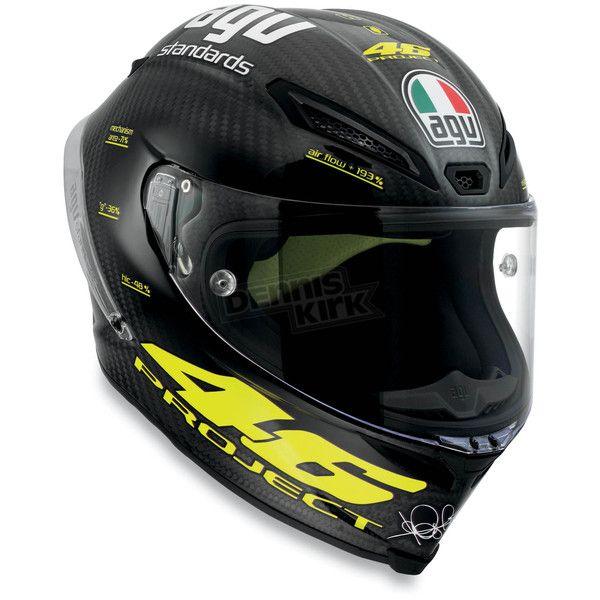 AGV Carbon Pista Helmet  - 6001O9DW001008  Sport Bike Motorcycle - Dennis Kirk, Inc.