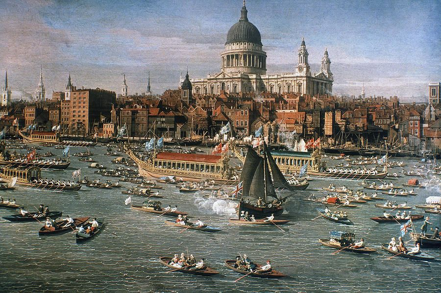 Image result for river pageant london canaletto